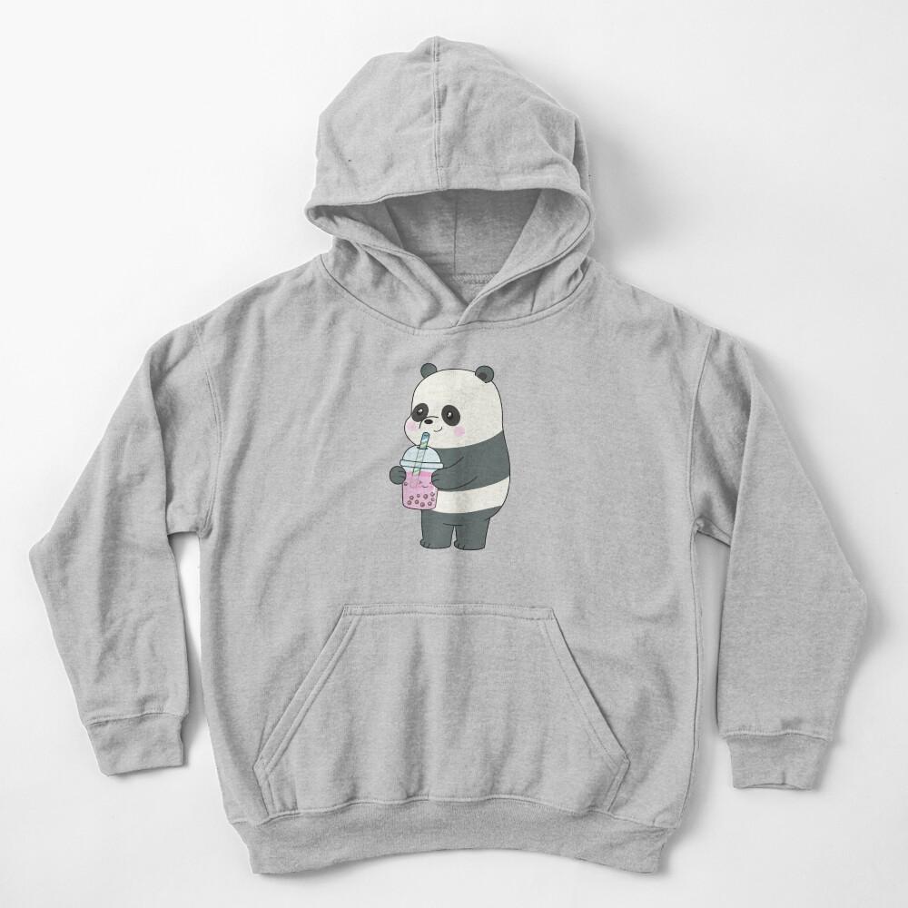 Panda Kids Pullover Hoodie