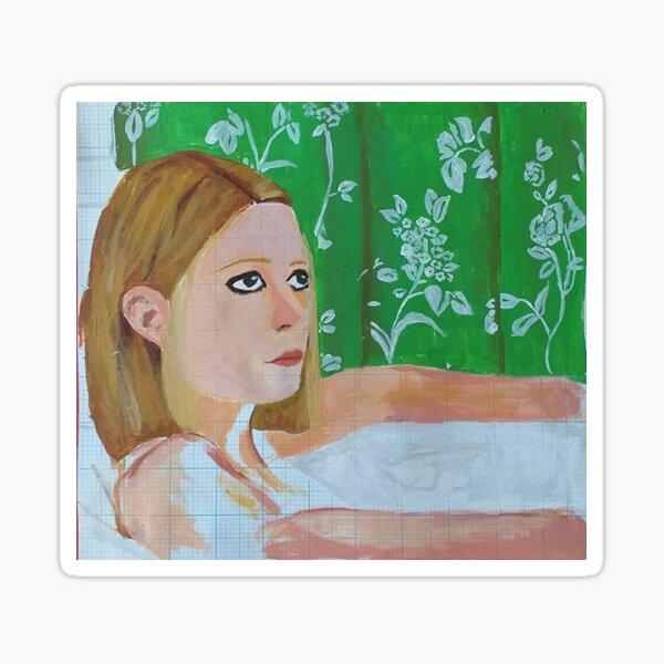 Margot Tenenbaum (Wes Anderson) Sticker