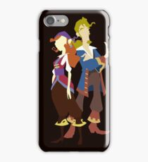 Elaine & Guybrush iPhone Case/Skin