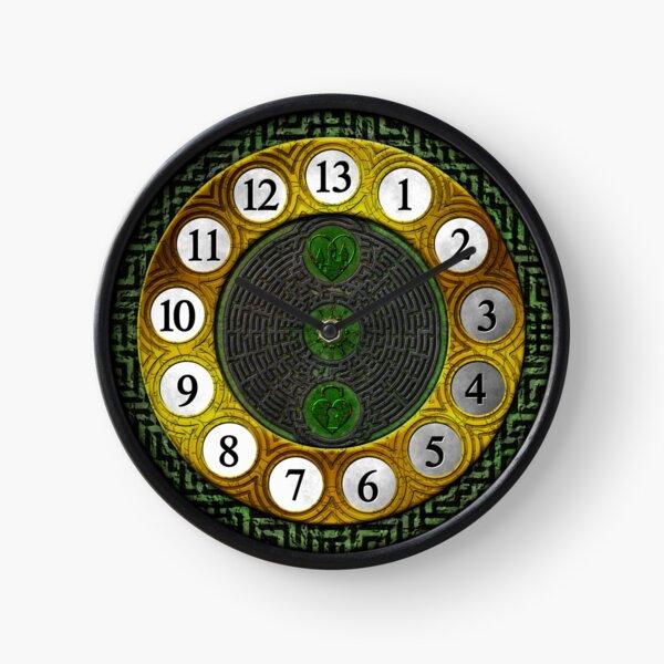 13 Hour Clock Maze Clock