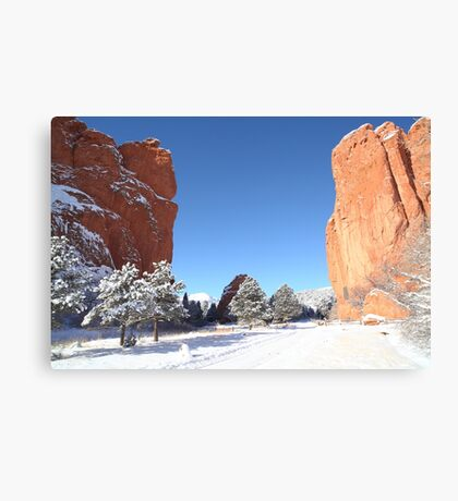 The Beautiful Gate Canvas Print