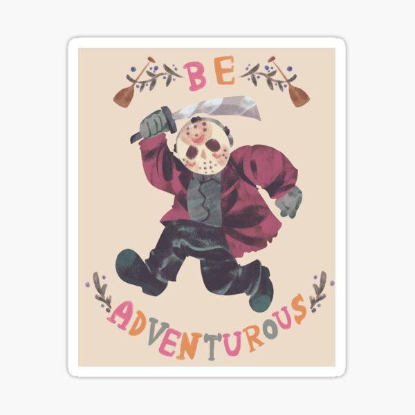 Be Adventurous Sticker