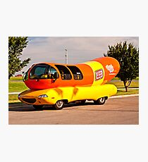 Oscar Meyer Weiner Mobile Photographic Print