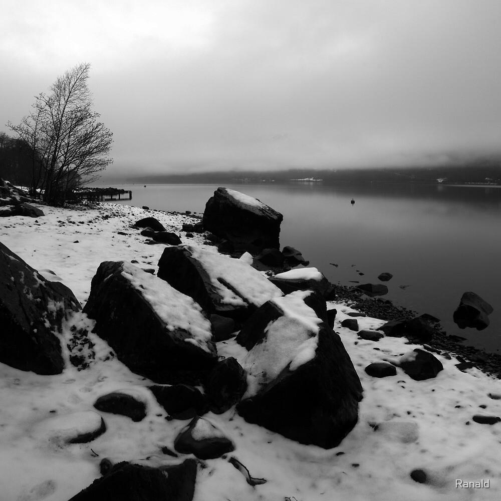 Rocks & water by Ranald