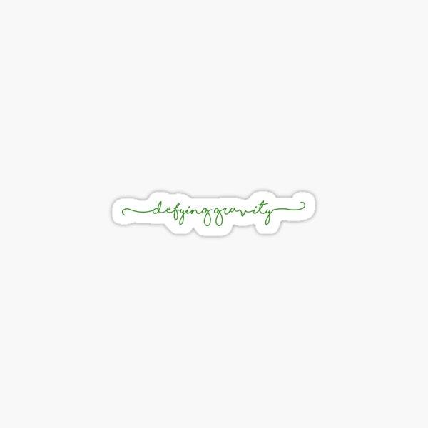 defying gravity | wicked Sticker