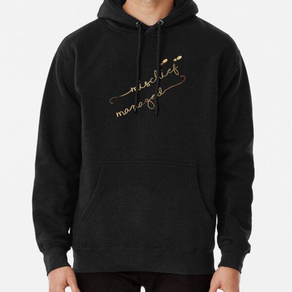 Mischief Managed (black) Pullover Hoodie