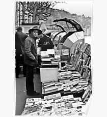 Book sellers on the Rhone Poster