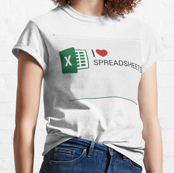 Spreadsheet Love Classic T-Shirt