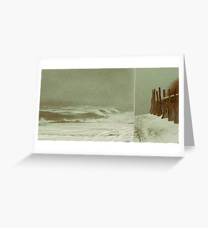Solitude is Deafening Greeting Card