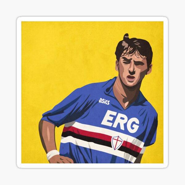 Roberto Mancini Illustration Sticker