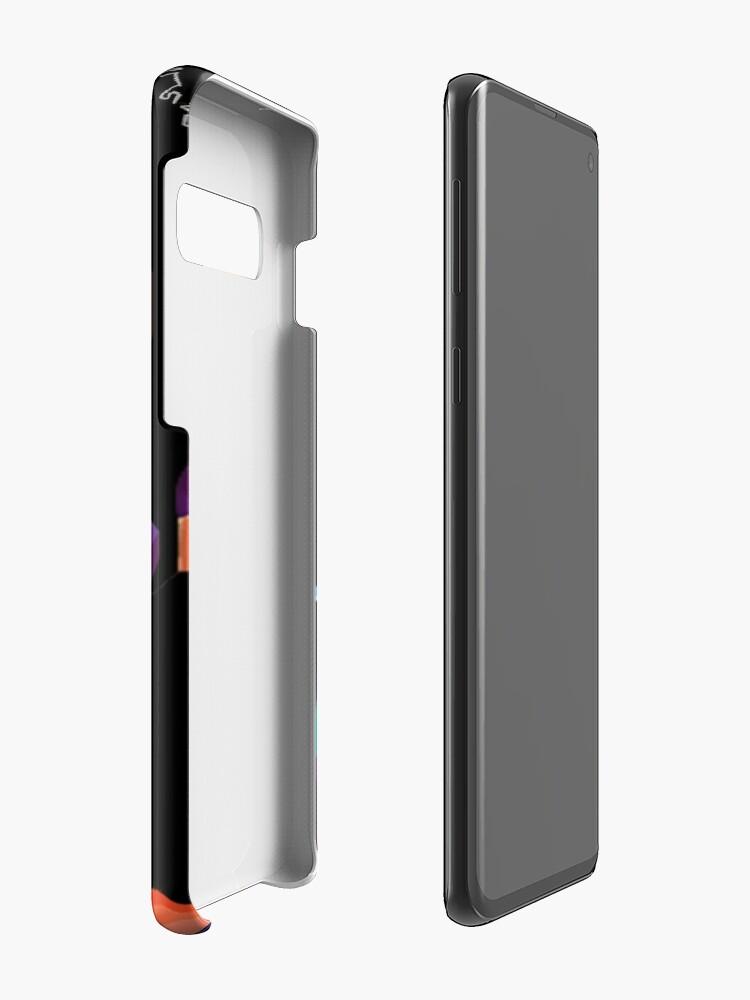 Vista alternativa de Funda y vinilo para Samsung Galaxy Simplemente Freddy