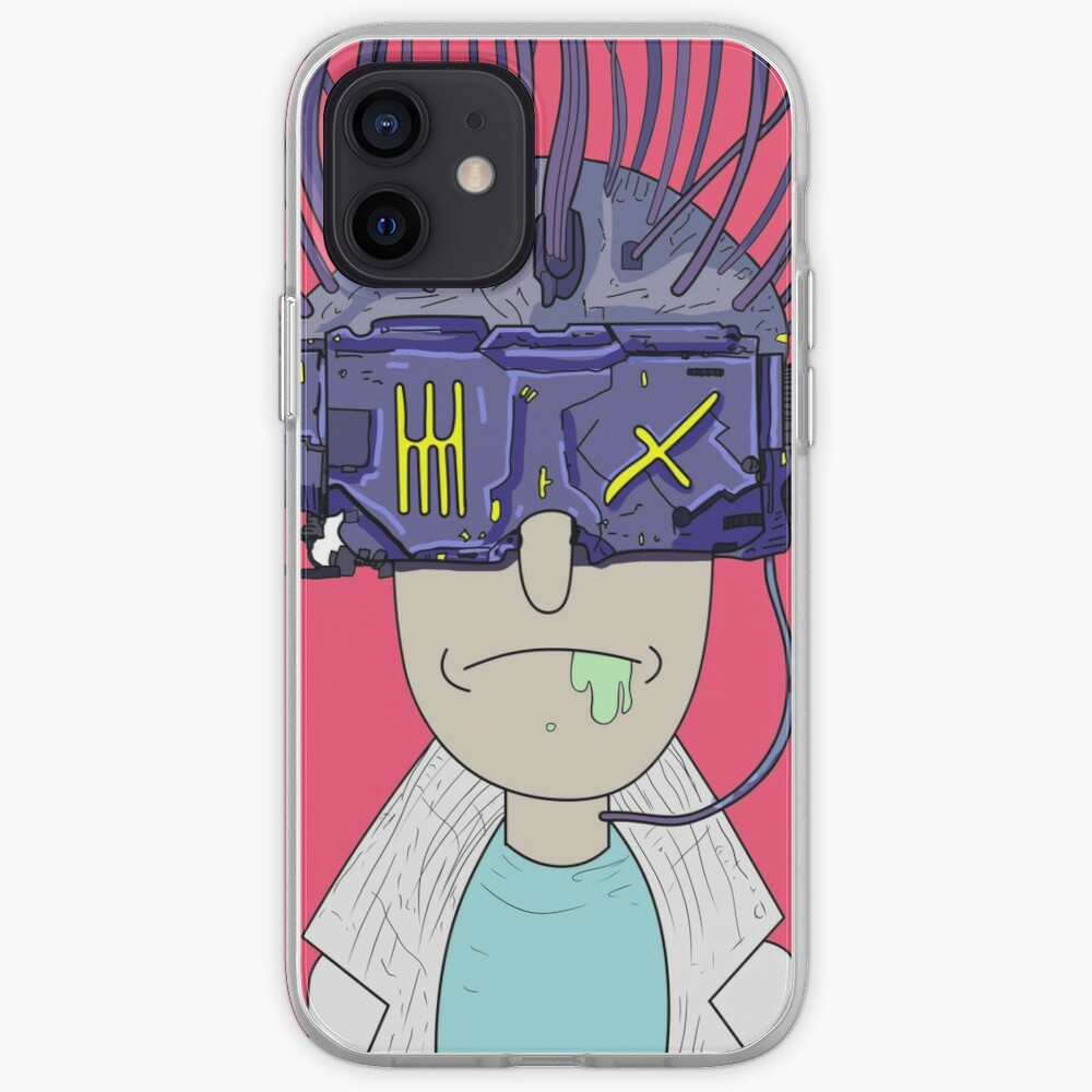 """Rick and morty """"Rickmancer"""" iPhone Case & Cover"""