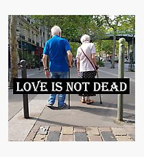 Love is not dead Impression photo