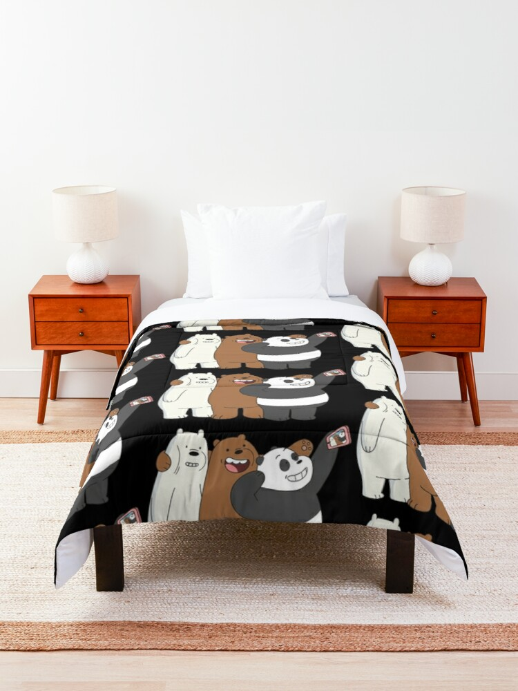 Alternate view of We Bare Bears Comforter