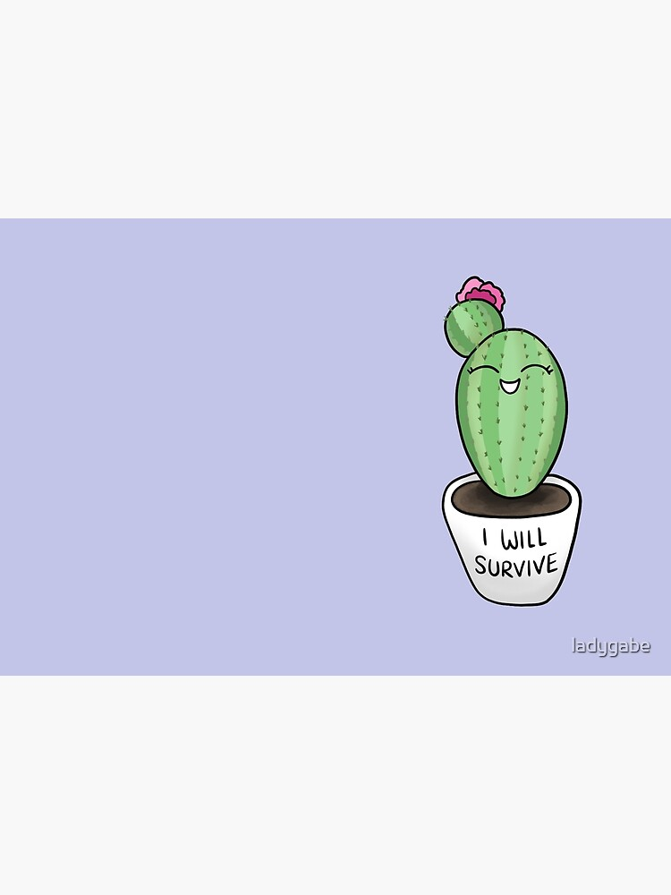 Sassy Cacti - I Will Survive by ladygabe
