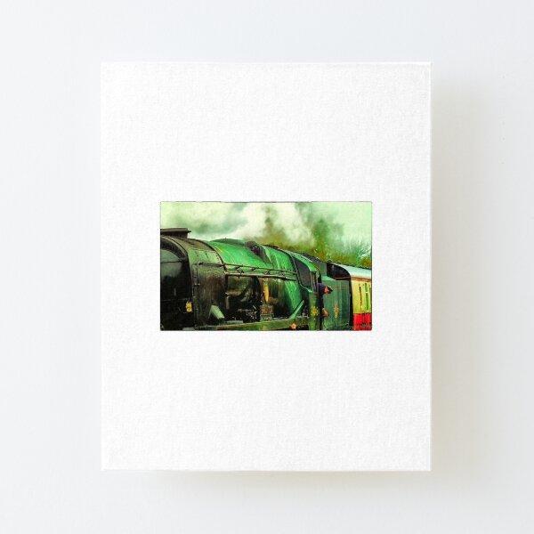 Green Steam again Canvas Mounted Print