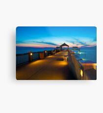 """Peer To Forever"" - Pier 60 on Clearwater Beach Florida Metal Print"