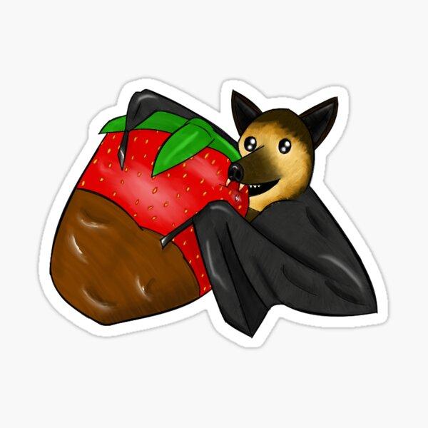 Choco Ichigo Bat Sticker