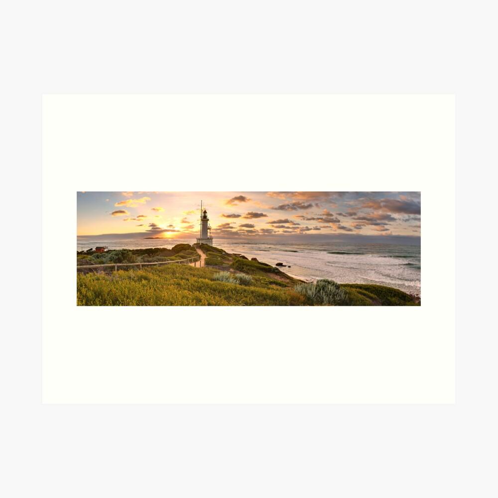 Point Lonsdale Lighthouse, Australia Art Print