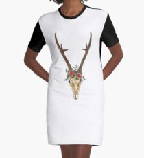 Boho  Graphic T-Shirt Dress