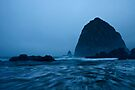 Haystack at dawn by Dan Mihai
