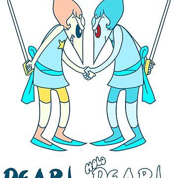 Pearl vs Holo-Pearl  by Heaven7-Eleven
