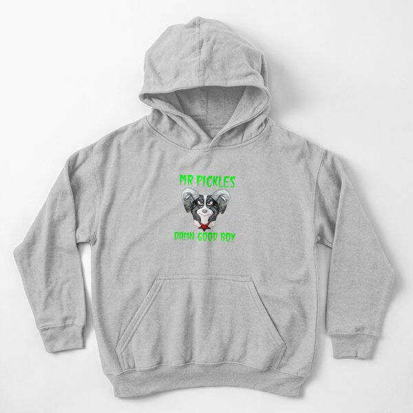 Mr Pickles - Damn Good Boy Kids Pullover Hoodie