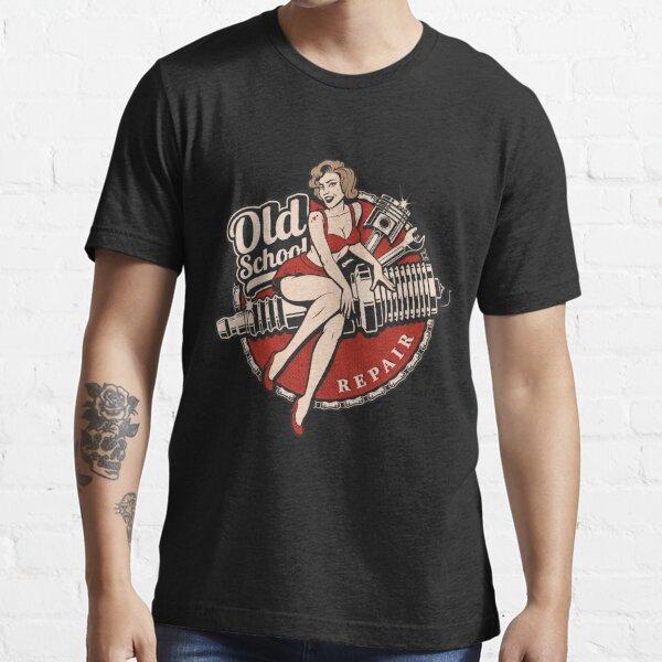 Hot Rod Retro Classic Rockabilly Old School Gift Essential T-Shirt