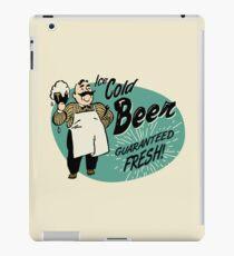 Vintage Beer Sign iPad Case/Skin