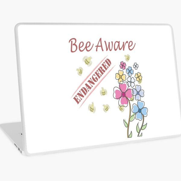 Save the Bees Laptop Skin