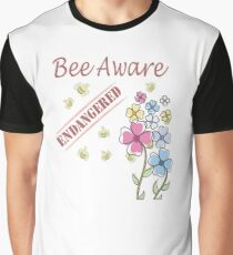 Save the Bees Graphic T-Shirt