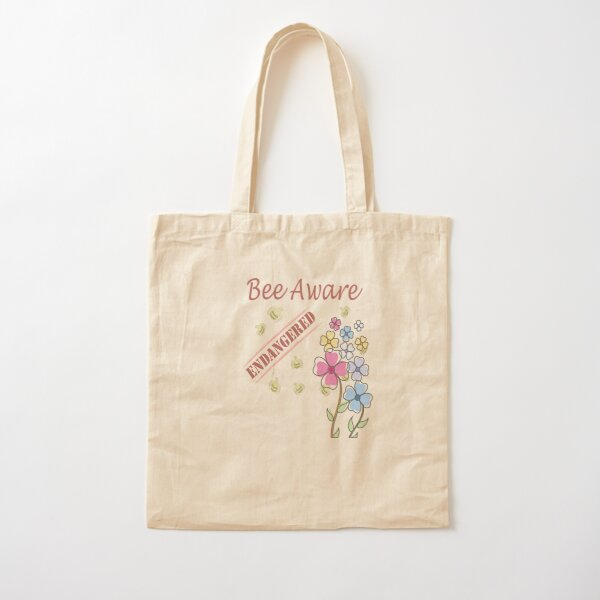 Save the Bees Cotton Tote Bag