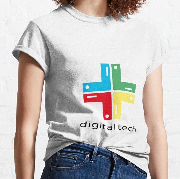 T-Shirt Tee Shirt Fun Comic Digital Tech Unisex Classic T-Shirt