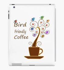 Save Birds' Habitats with Bird Friendly Coffee iPad Case/Skin