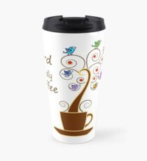 Save Birds' Habitats with Bird Friendly Coffee Travel Mug