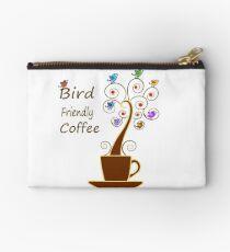 Save Birds' Habitats with Bird Friendly Coffee Zipper Pouch