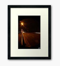 Brisbane City NYE Framed Print