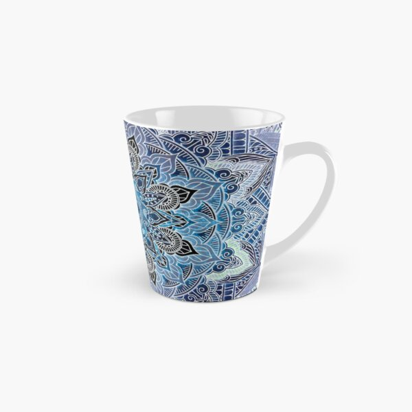 Blue Mandala Tall Mug