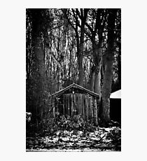 Old Shed - Scotland Photographic Print