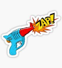 Raygun Zap Sticker