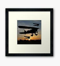 Fly Past Framed Print