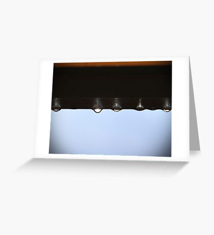 untitled droplets Greeting Card