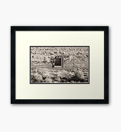 MIRAGE.. Framed Print