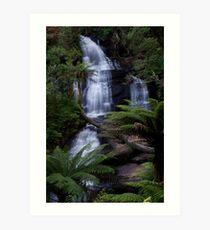 Triplet Falls - Otways National Park, Australia Art Print