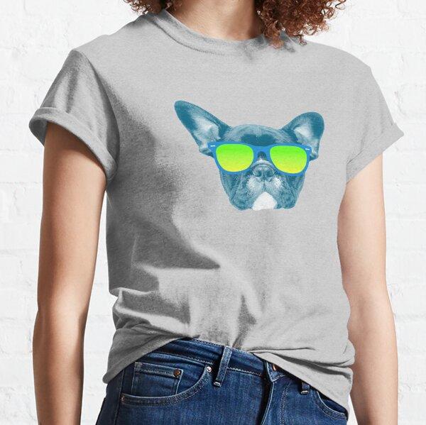 Cool Dog wearing Sunglasses Classic T-Shirt