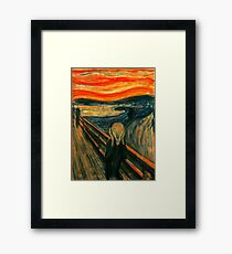 The Scream | An Icon of Modern Art --and Halloween Framed Print