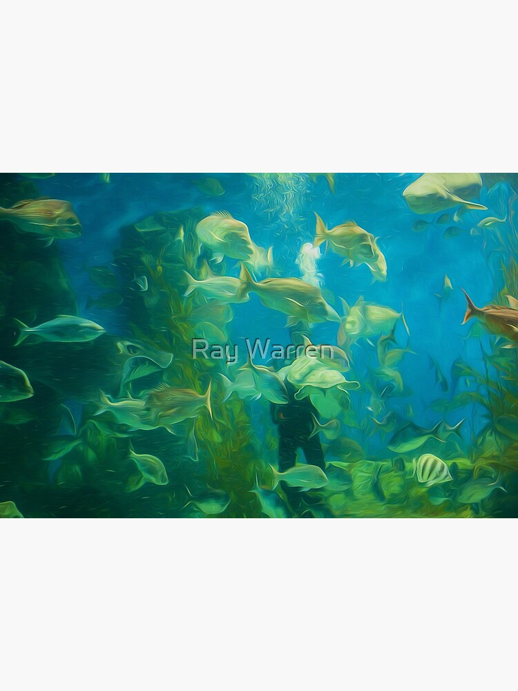 Cool Aquarium (digital painting) by RayW