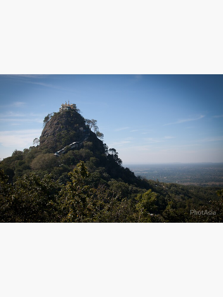 Mount Popa - the Mount Olympus of Burma by PhotAsia