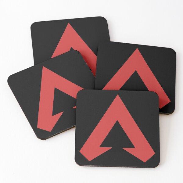 Apex Legends Logo Coasters (Set of 4)