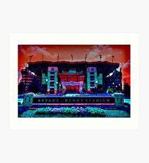 Alabama Crimson Tide Bryant Denny Stadium Art Print